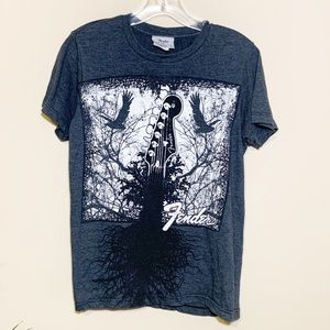 Fender Artsy Graphic Tee Sz S